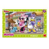 Minnie na Montmartru - puzzle 15 dílků