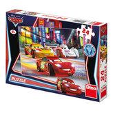 Auta: Noční závod - puzzle 24 dílků