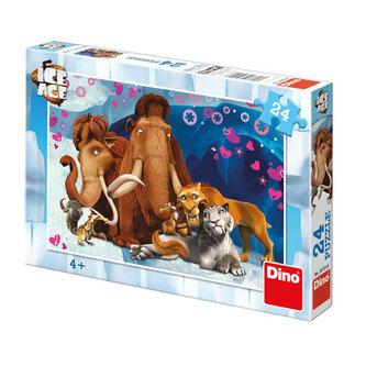 Doba ledová: Zamilovaní - puzzle 24 dílk