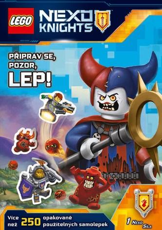 LEGO® NEXO KNIGHTS™ – Připrav se, pozor, lep!