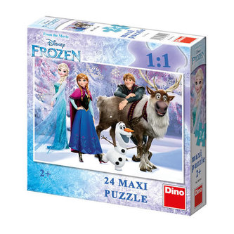 Ledové království: Elsa a přátelé - Maxi puzzle 24 dílků - neuveden