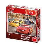 Auta: Veselý Blesk - Maxi puzzle 24 dílků