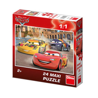 Auta: Veselý Blesk - Maxi puzzle 24 dílků - Dino Toys