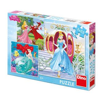 Já jsem princezna - Puzzle 3x55