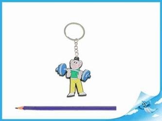 Přívěsek na klíče postavička Čtyřlístek Bobík