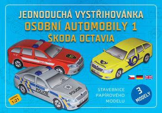 Jednoduchá vystřihovánka osobní automobily 1 - Škoda Octavia - neuveden