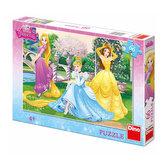 Princezny v zahradě - Puzzle 66 dílků