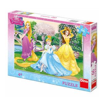 Princezny v zahradě - Puzzle 66 dílků - Barbara Jean Hicks