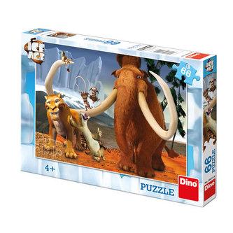 Doba ledová: Partička - Puzzle 66 dílků