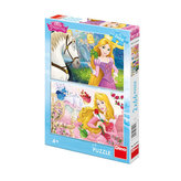 Princezny: Portréty - Puzzle 2x66