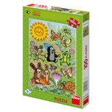 Krtek a jarní den - Puzzle 100 XL dílků