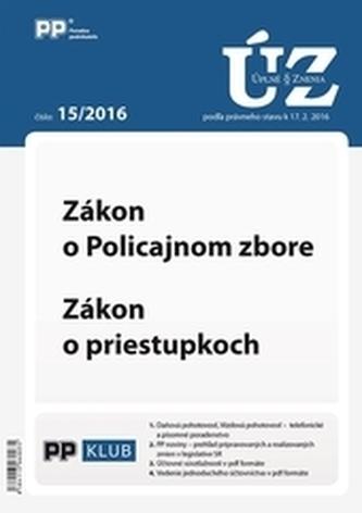 Úplne znenia zákonov 15-2016