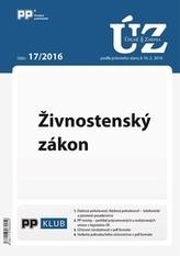 Úplne znenia zákonov 17-2016