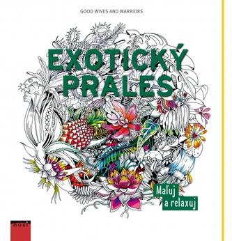 Exotický prales-maľovanky pre dospelých