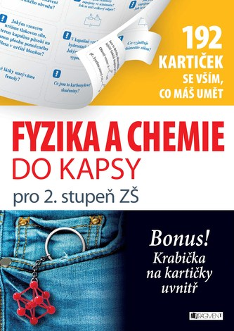 Fyzika a chemie do kapsy pro 2. stup. ZŠ (192 kartiček) - Marie Vlková, Jan Řasa