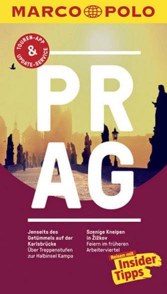 Praha/německy cestovní průvodce s mapou   MD