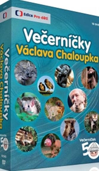 Večerníčky Václava Chaloupka - 10 DVD