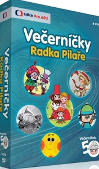 Večerníčky Radka Pilaře - 8 DVD - neuveden
