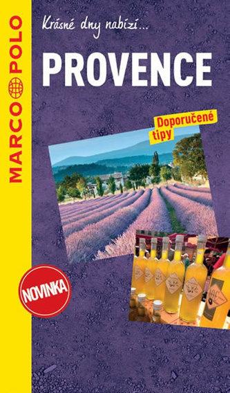 Provence / průvodce na spirále s mapou MD
