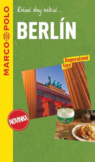 Berlín / průvodce na spirále s mapou MD - neuveden