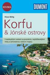 Korfu & Jónské ostrovy - Průvodce se samostatnou cestovní mapou