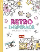 Retro inspirace - Omalovánky pro dospělé