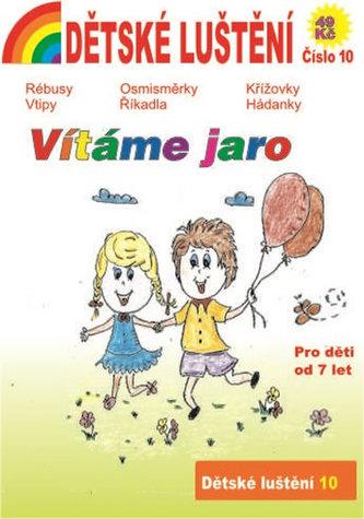 Dětské luštění 10 - Vítáme jaro