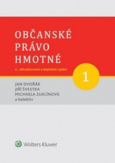 Občanské právo hmotné 1 - Díl první: Obecná část. 2., aktualizované a doplněné vydání.