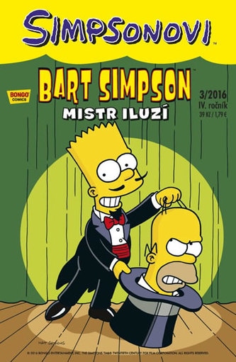 Simpsonovi - Bart Simpson 3/2016 - Mistr iluzí - Matt Groening