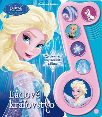 Ľadové kráľovstvo Zvuková knižka