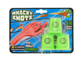 Whacky Shots 9,5cm s doplňky Fireball červený na kartě