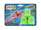 Whacky Shots 9,5cm s doplňky Fireball vínový na kartě