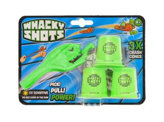 Whacky Shots 9,5cm s doplňky Water Splash světle zelený na kartě