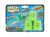 Whacky Shots 9,5cm s doplňky Water Splash tmavě zelený na kartě