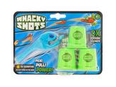 Whacky Shots 9,5cm s doplňky Water Splash světle modrý na kartě