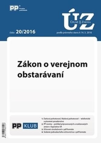 Úplne znenia zákonov 20-2016