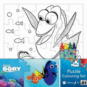 Hledá se Dory omalovánkové puzzle