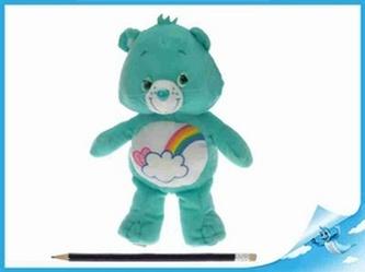 Starostlivý medvídek plyšový zelený