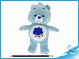 Starostlivý medvídek plyšový modrý