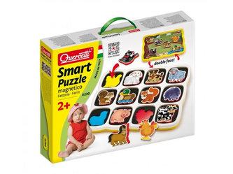 Smart Puzzle magnetico Farm - Oboustranné magnetické puzzle