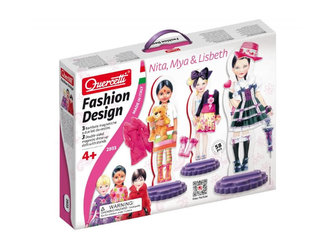 Fashion Design Nita, Mya & Lisbeth - Šablony