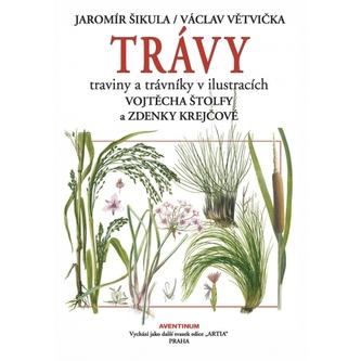 Trávy traviny a trávniky v ilustracích Vojtěcha Štolfy a Zdenky Krejčové - Šikula, Jaromír; Větvička, Václav