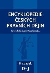 Encyklopedie českých právních dějin, II. svazek D-J
