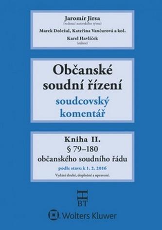 Občanské soudní řízení Kniha II.