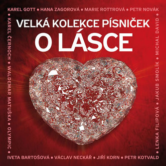 Velká kolekce písniček o lásce - 3CD