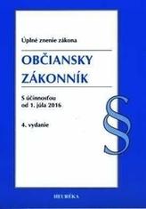 Občiansky zákonník. Úzz, 4. vydanie 2016