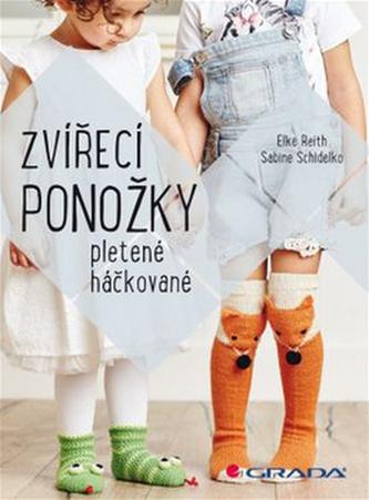 Zvířecí ponožky - Elke Reith; Sabine Schidelko