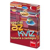 AZ kvíz Historie a zeměpis společenská hra cestovní v krabici 11x18x3,5cm