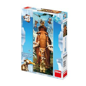 Doba ledová - puzzle panoramic 150 dílků