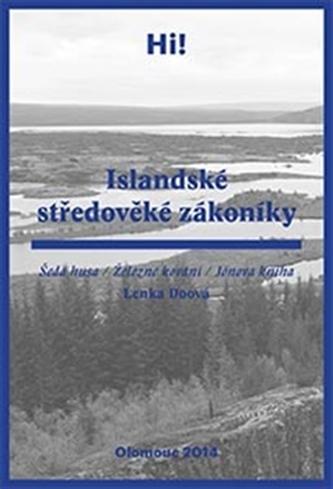 Islandské středověké zákoníky - Lenka Doová